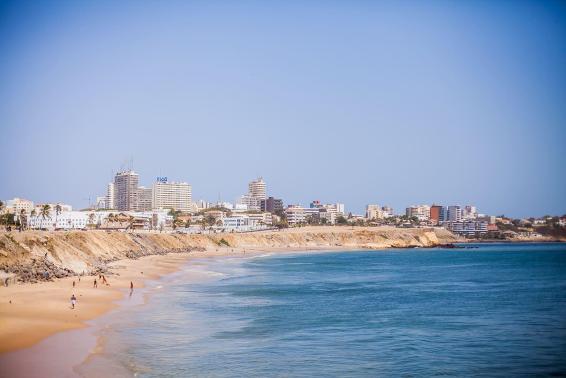 Dakar - Dakar, capital city of Senegal