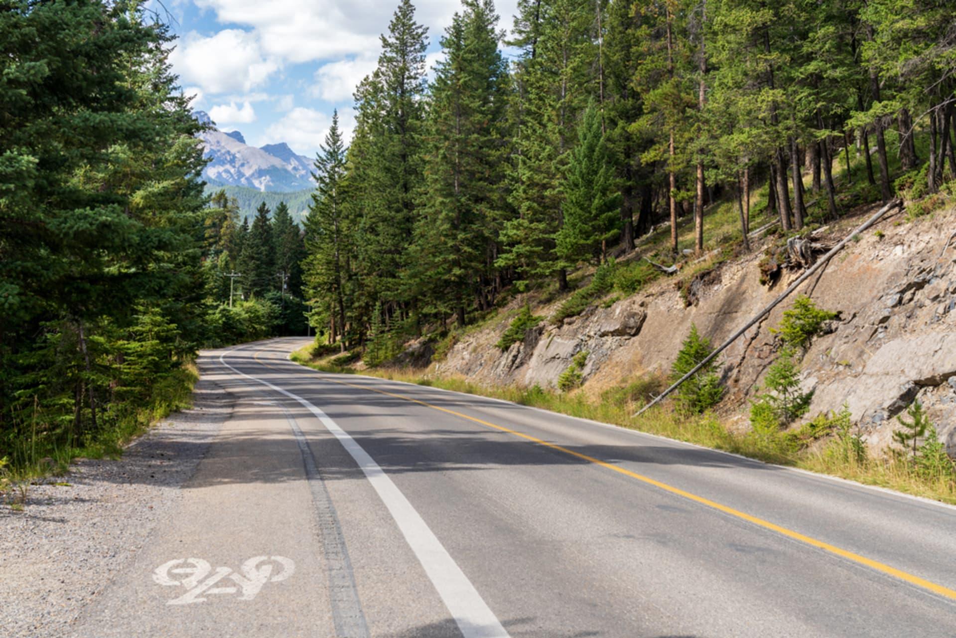 Banff - Biking through Banff