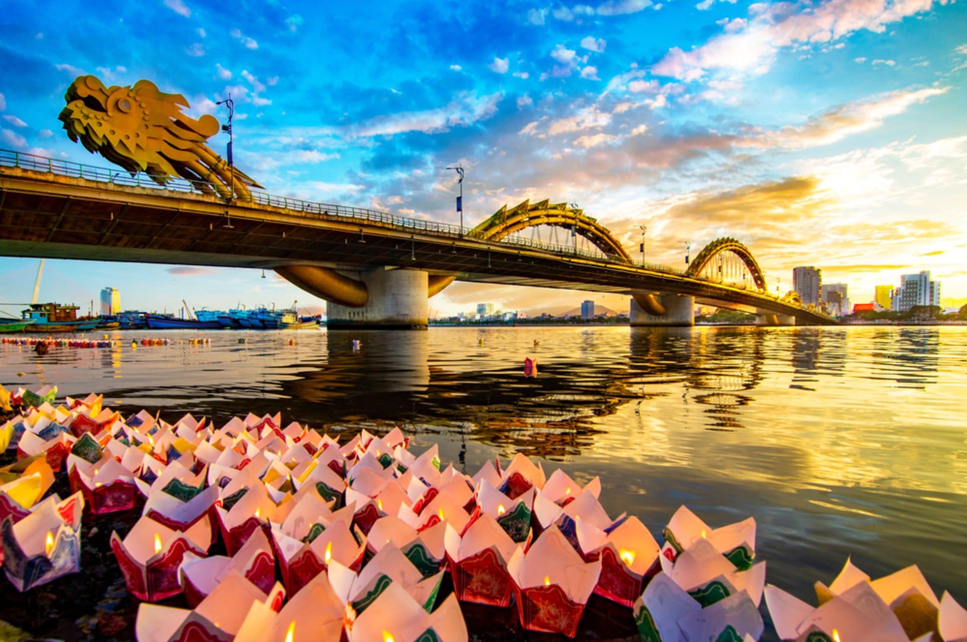 "Da Nang - Da Nang - Day 1: Dragon ""The Longest"" Bridge in Vietnam"