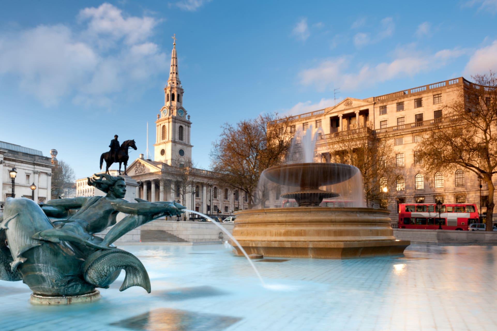 London - Trafalgar Square Walking Tour