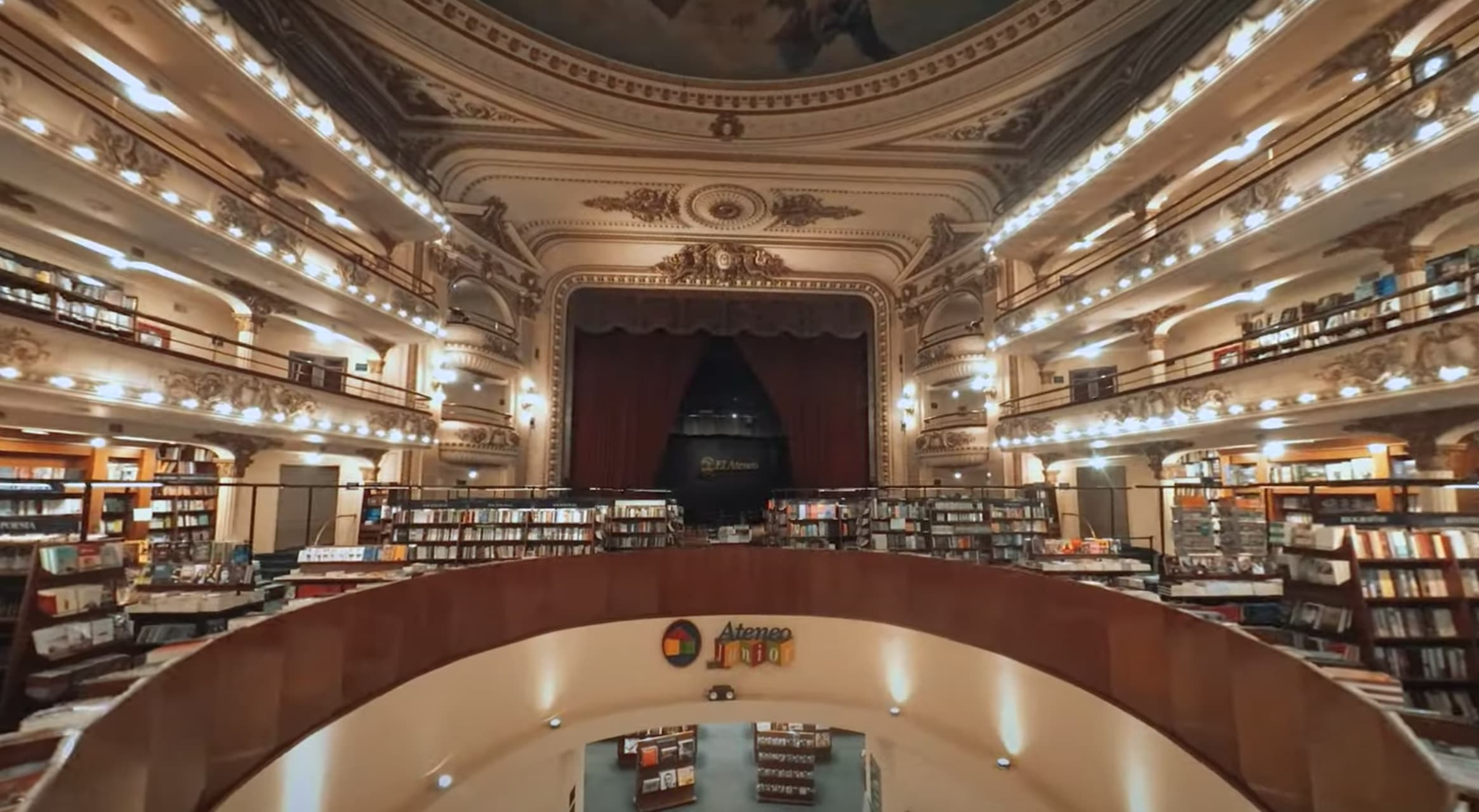 Buenos Aires - What a Bookstore in Buenos Aires!