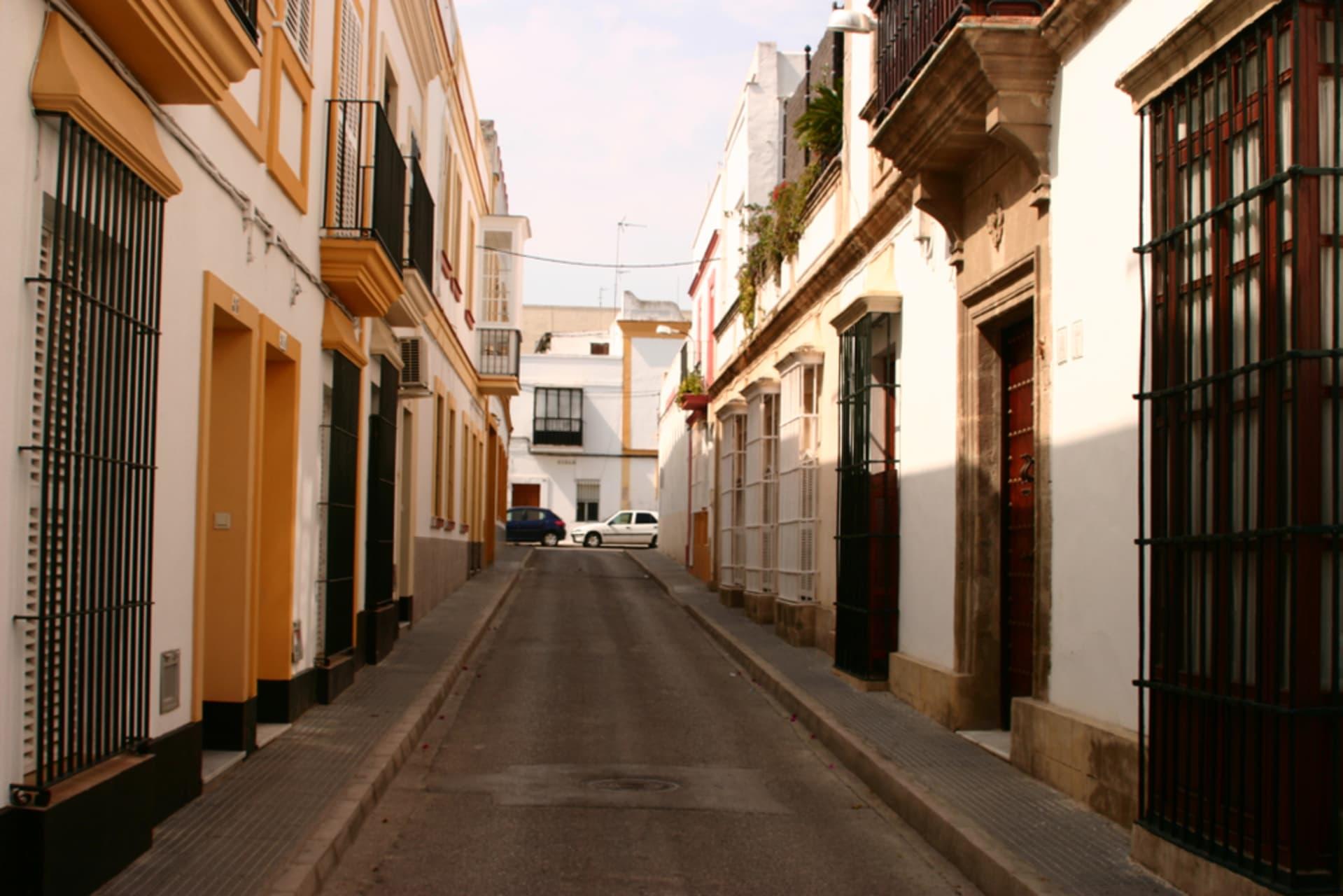 Cádiz - Puerto de Santa Maria.  The city where the first map of The New World was made.