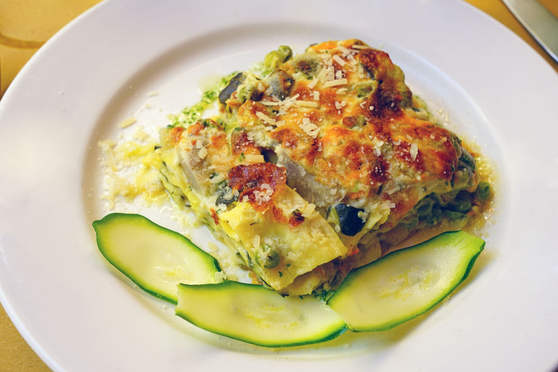 Rome - Summer Special - Lasagna with Zucchini