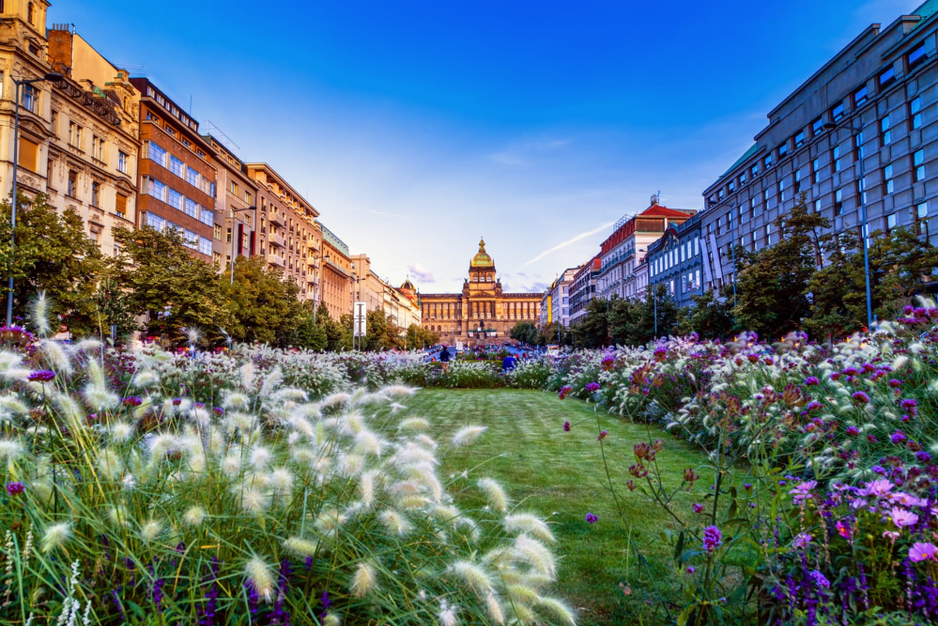 Prague - The Flounder, The Lantern, and The Crown - Hidden Beauty of Prague New Town's Passages