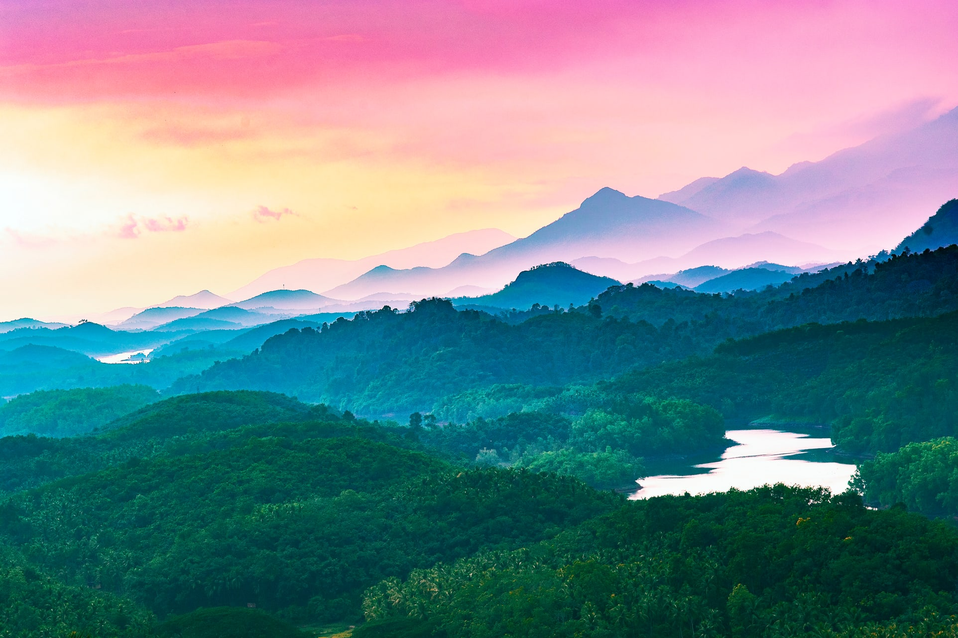 Kerala - Natural beauty a Village