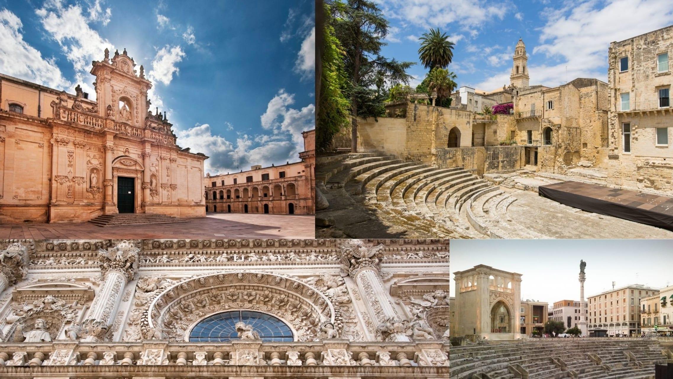Puglia - Lecce: The Queen of the Baroque and the artistic splendor of Puglia.