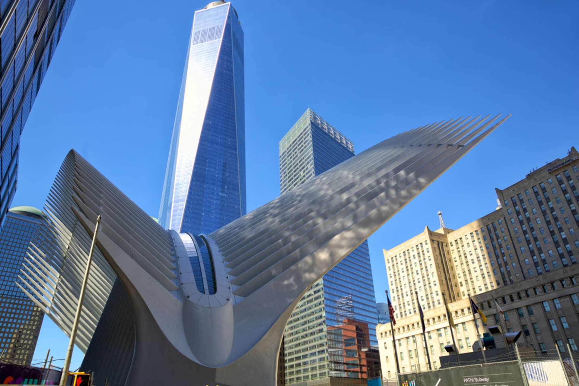 New York - 9/11 Memorial and Financial District
