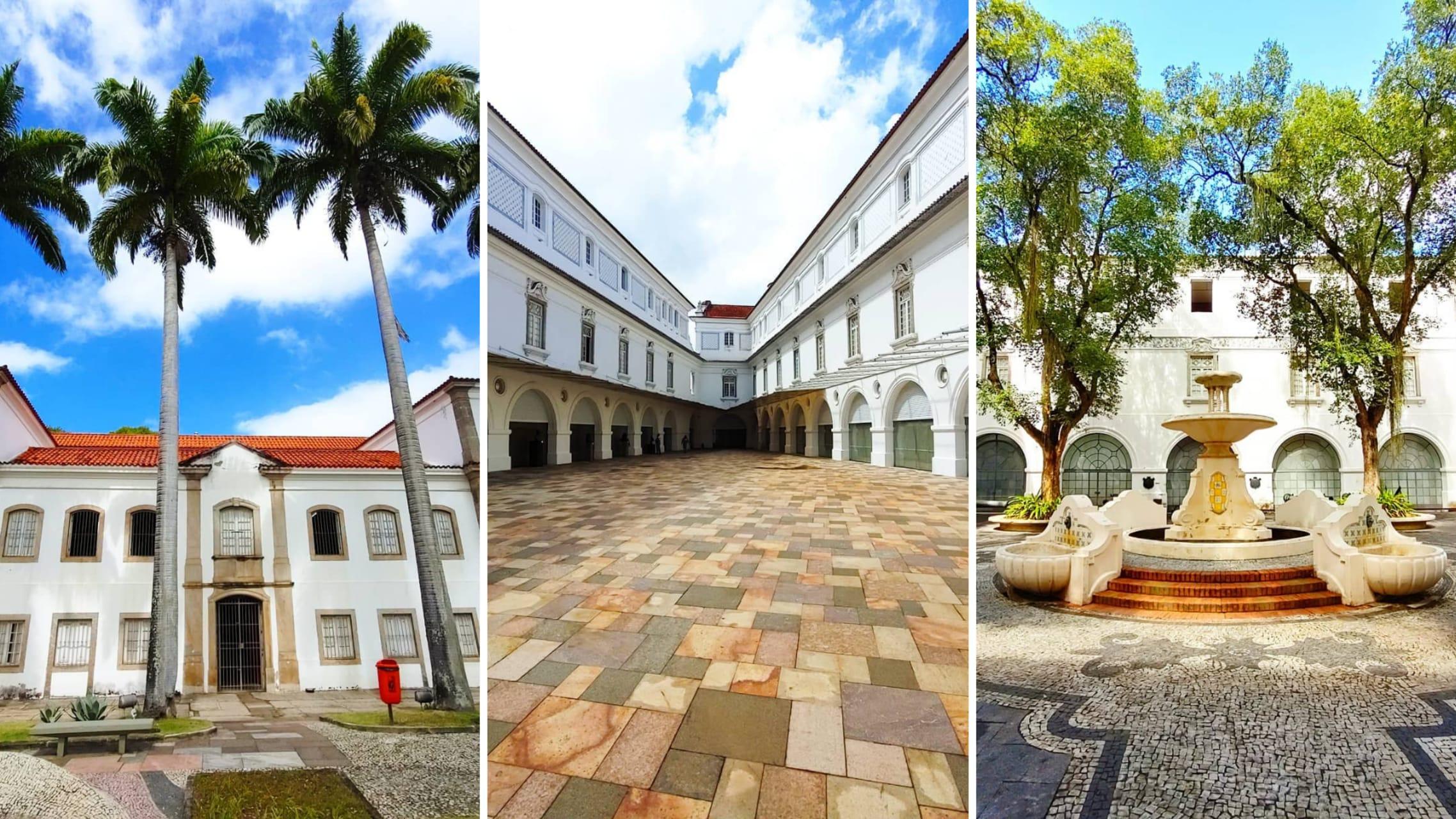 Rio de Janeiro - National Historical Museum in Rio de Janeiro