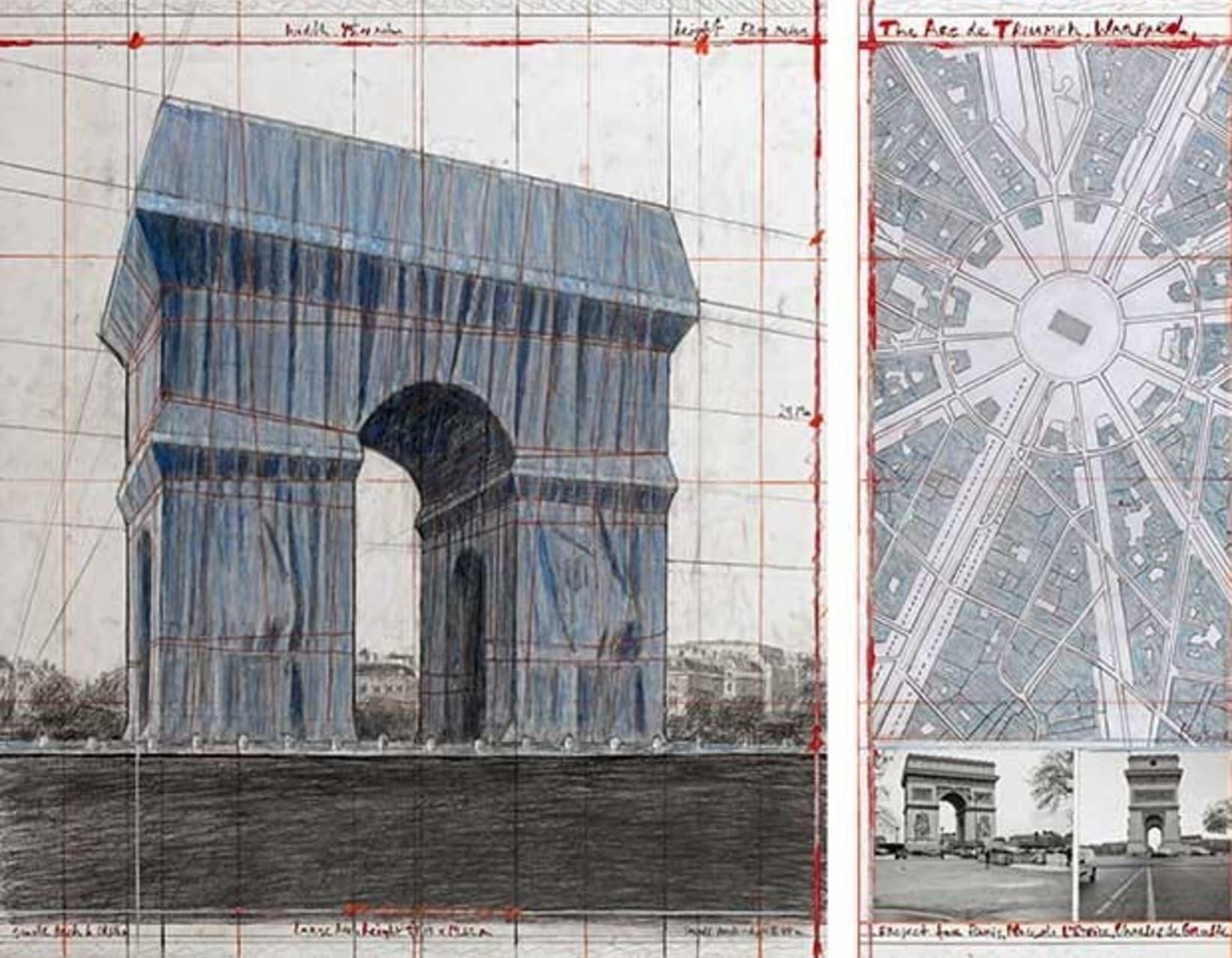 Paris - The Arc de Triomphe Wrapped by Christo