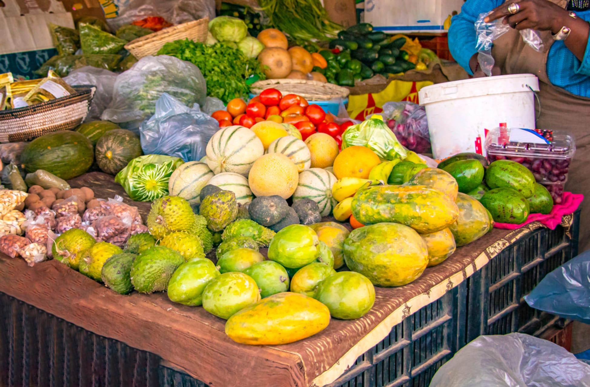 Dakar - Visiting the Kermel Market - Downtown Dakar