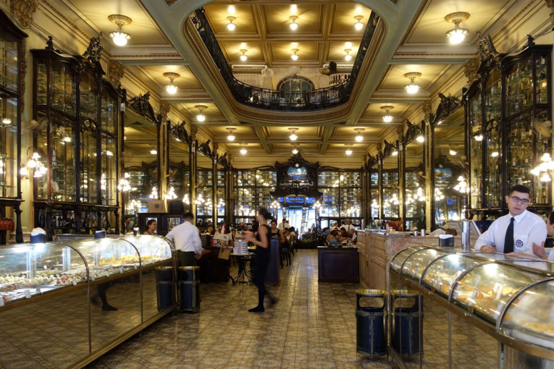 Rio de Janeiro - Confeitaria Colombo: Rio's most famous bakery!