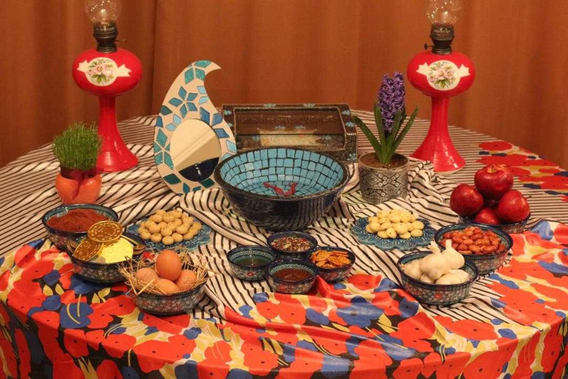 """Tehran - Lets welcome to Iranian Nowruz together by setting up """"Haft Sin"""""""