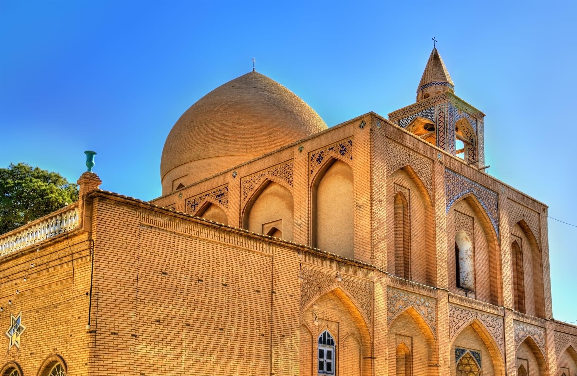 Ispahan - Armenian Cathedral in Isfahan: Vank
