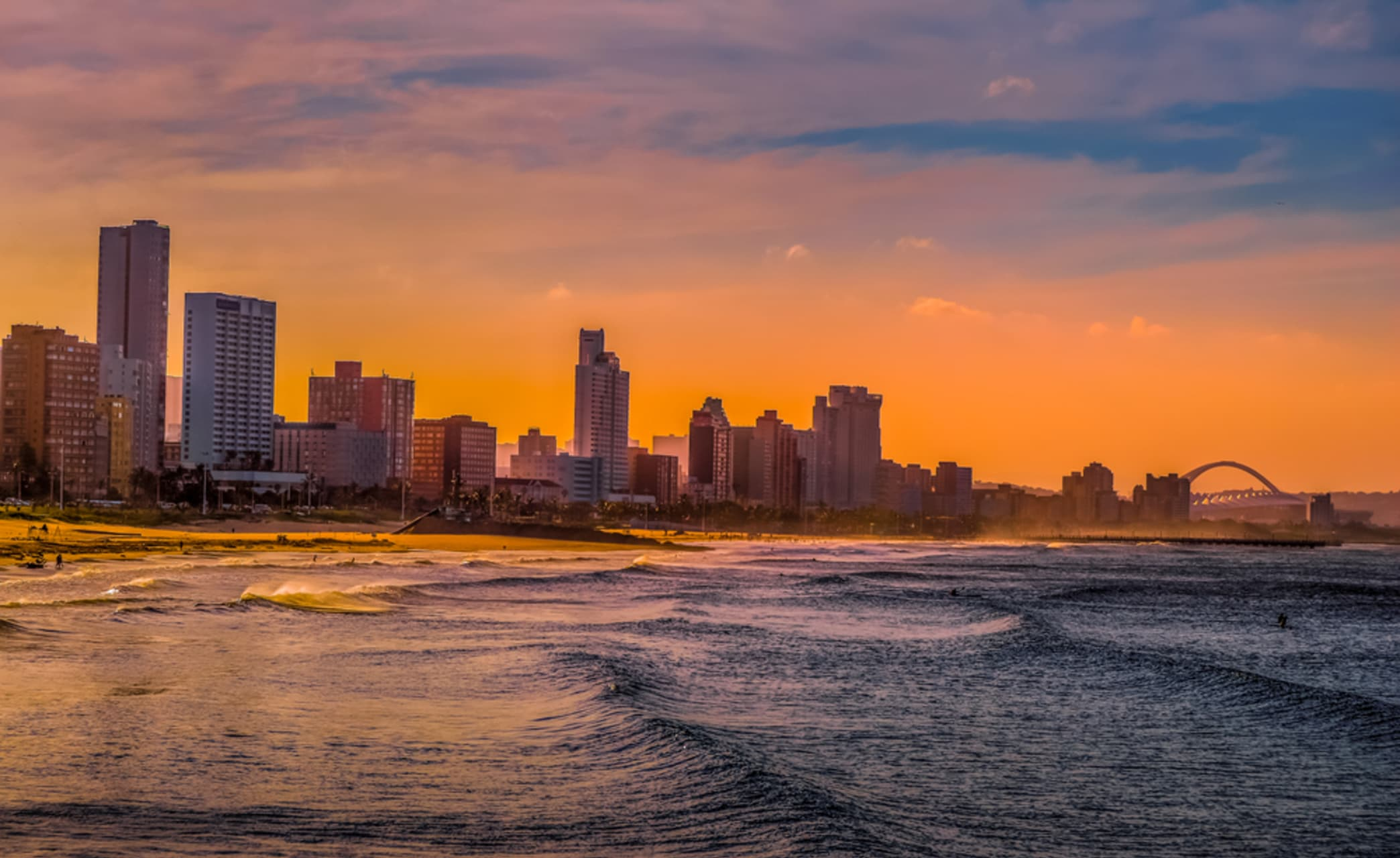 Saint Lucia - Showcasing Durban's vibrant beachfront