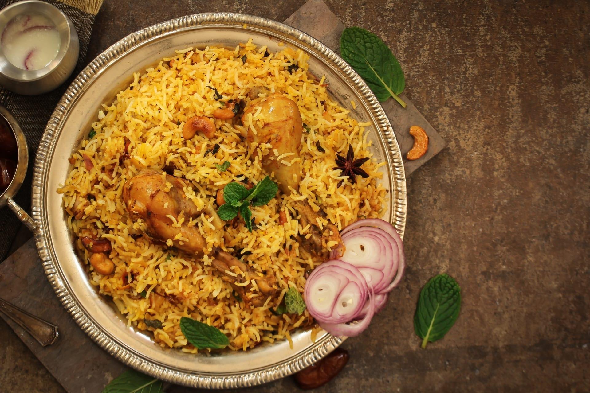 Agra - Chicken Biryani Cooking Class