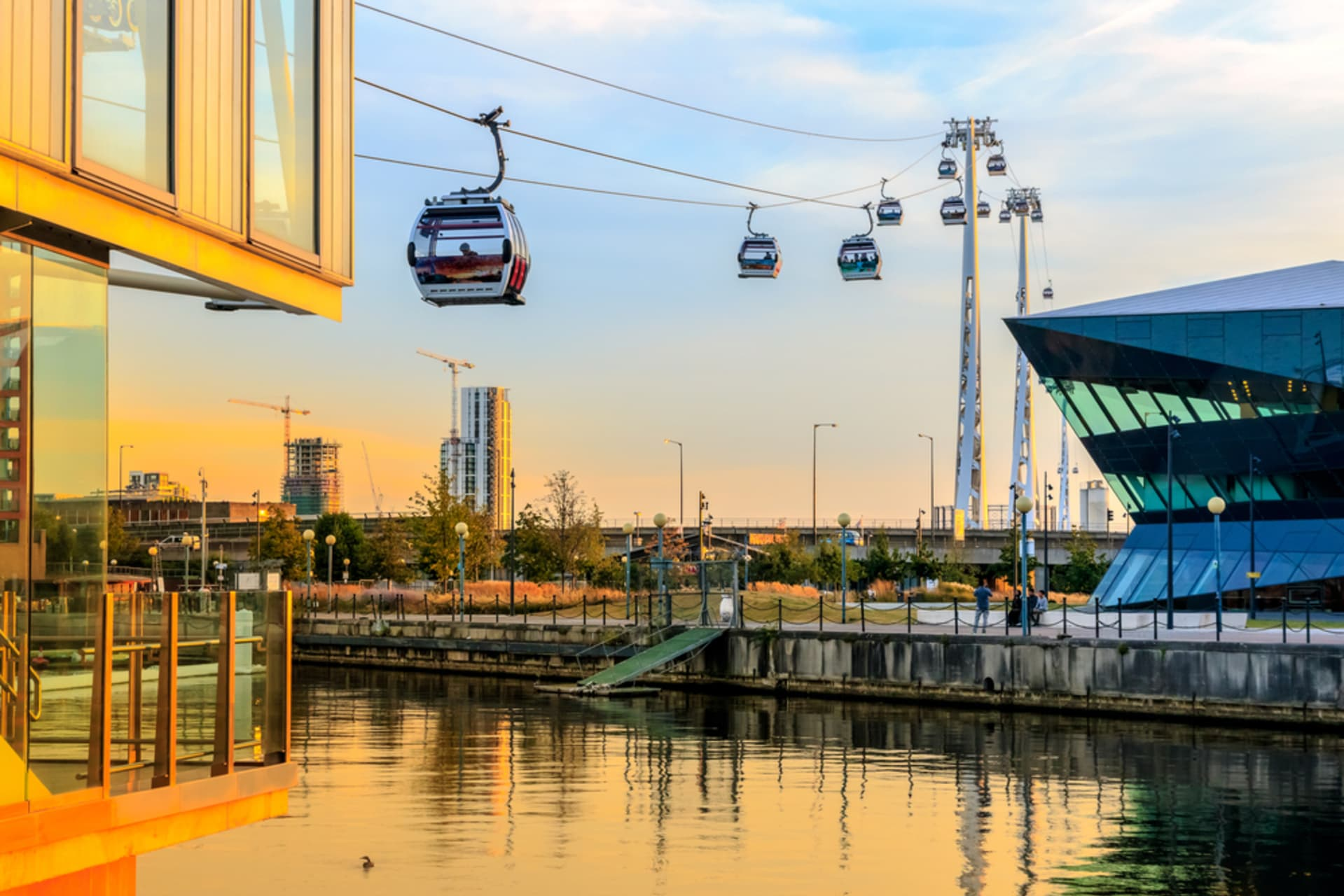 London - London by Cable Car and DLR
