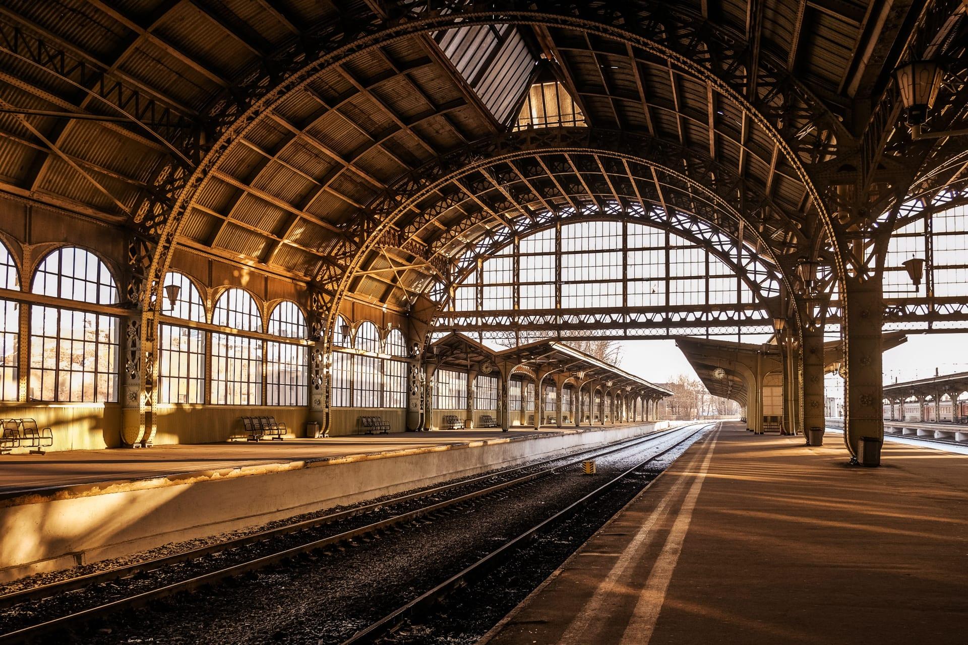 Saint Petersburg - Vitebsky Railway Station