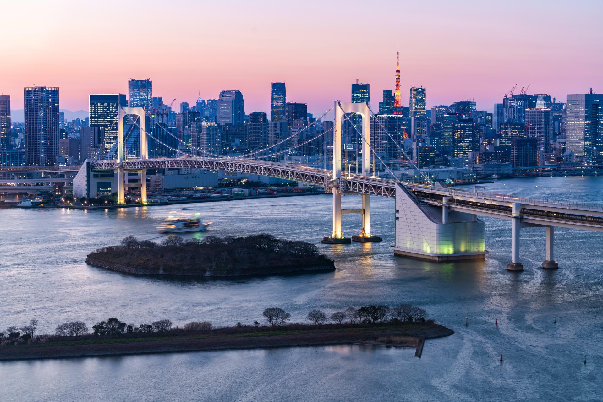 Tokyo - Tokyo Walk 4: Odaiba, the Entertainment Island in Tokyo Bay