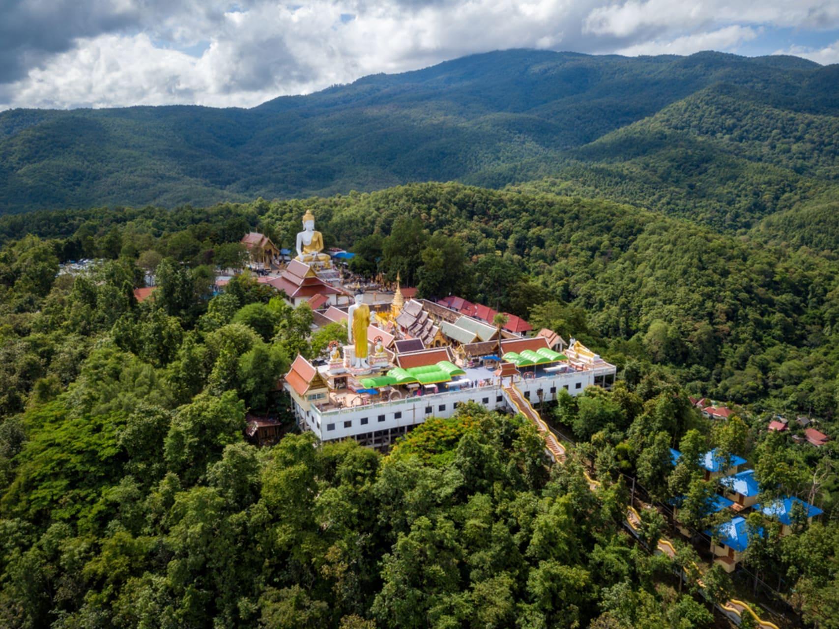 Chiang Mai - Doi Kham, the hidden hilltop temple