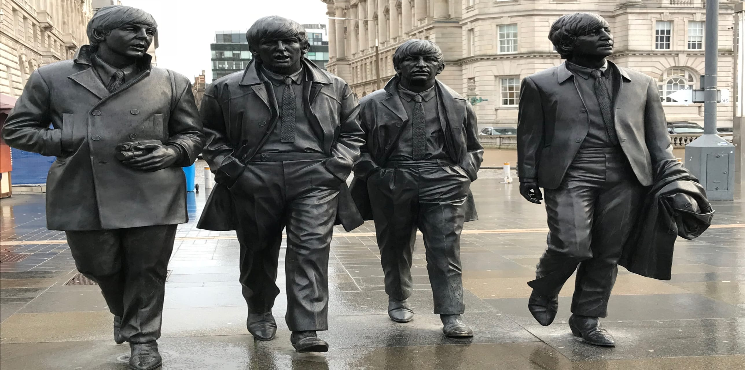 Liverpool - A walk with The Beatles - Ferry Across the Mersey, Albert Dock and The Cavern Club