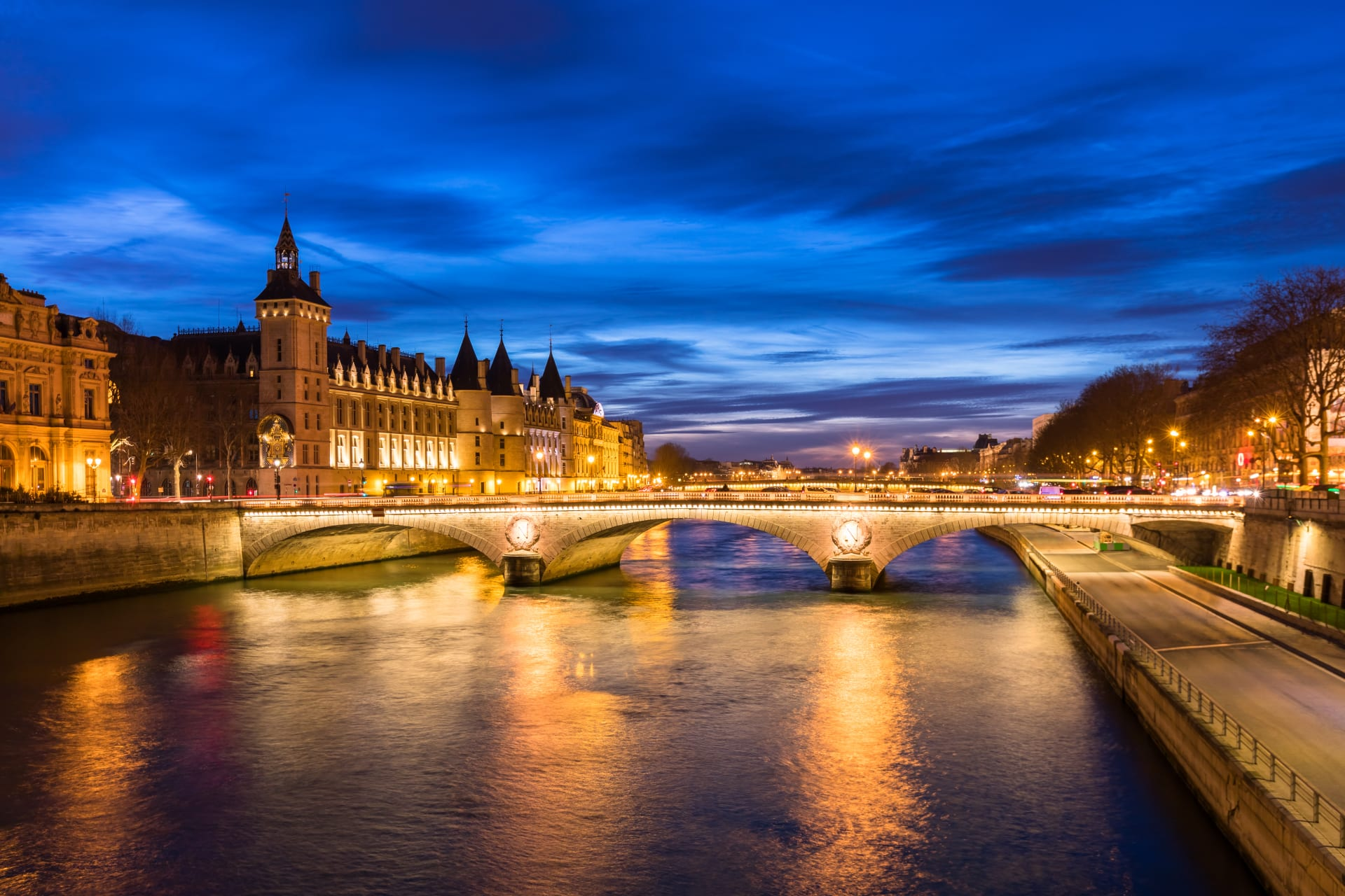 Paris - Cruise on the River by Night