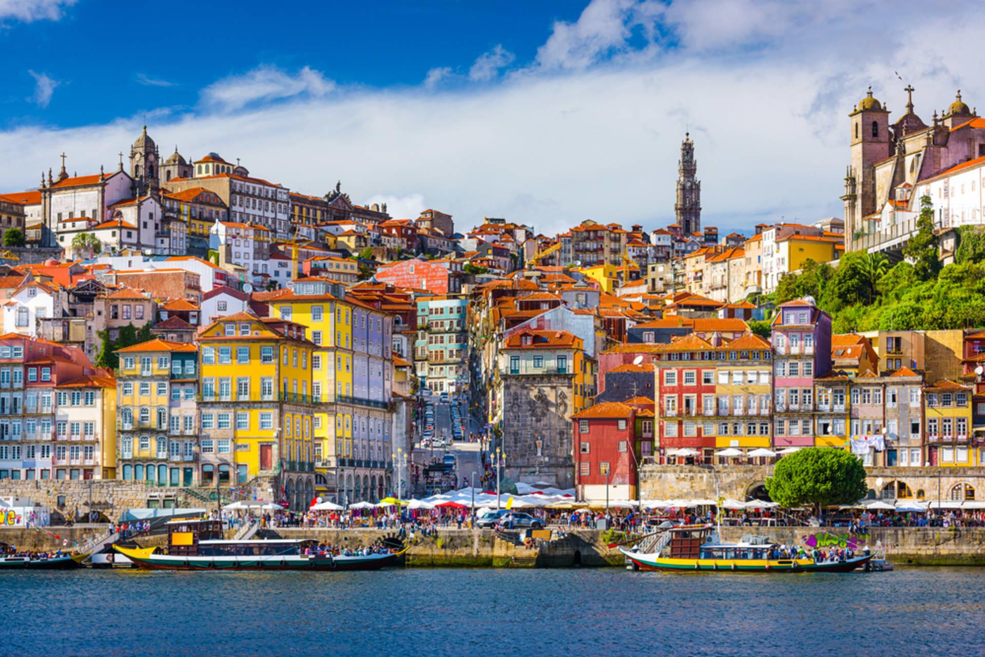 Porto - Porto seen from the Wine Cellars