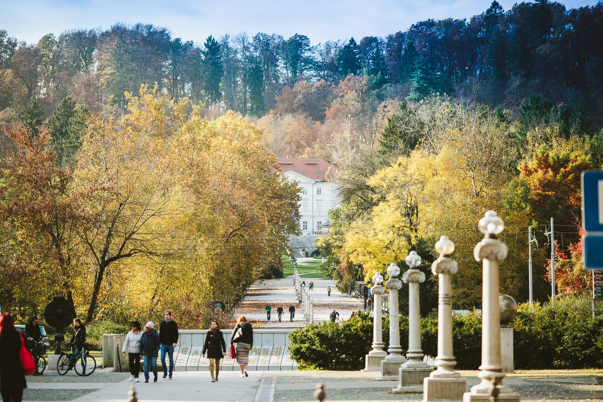 Ljubljana - Let's go for a walk- Tivoli Park is inviting us