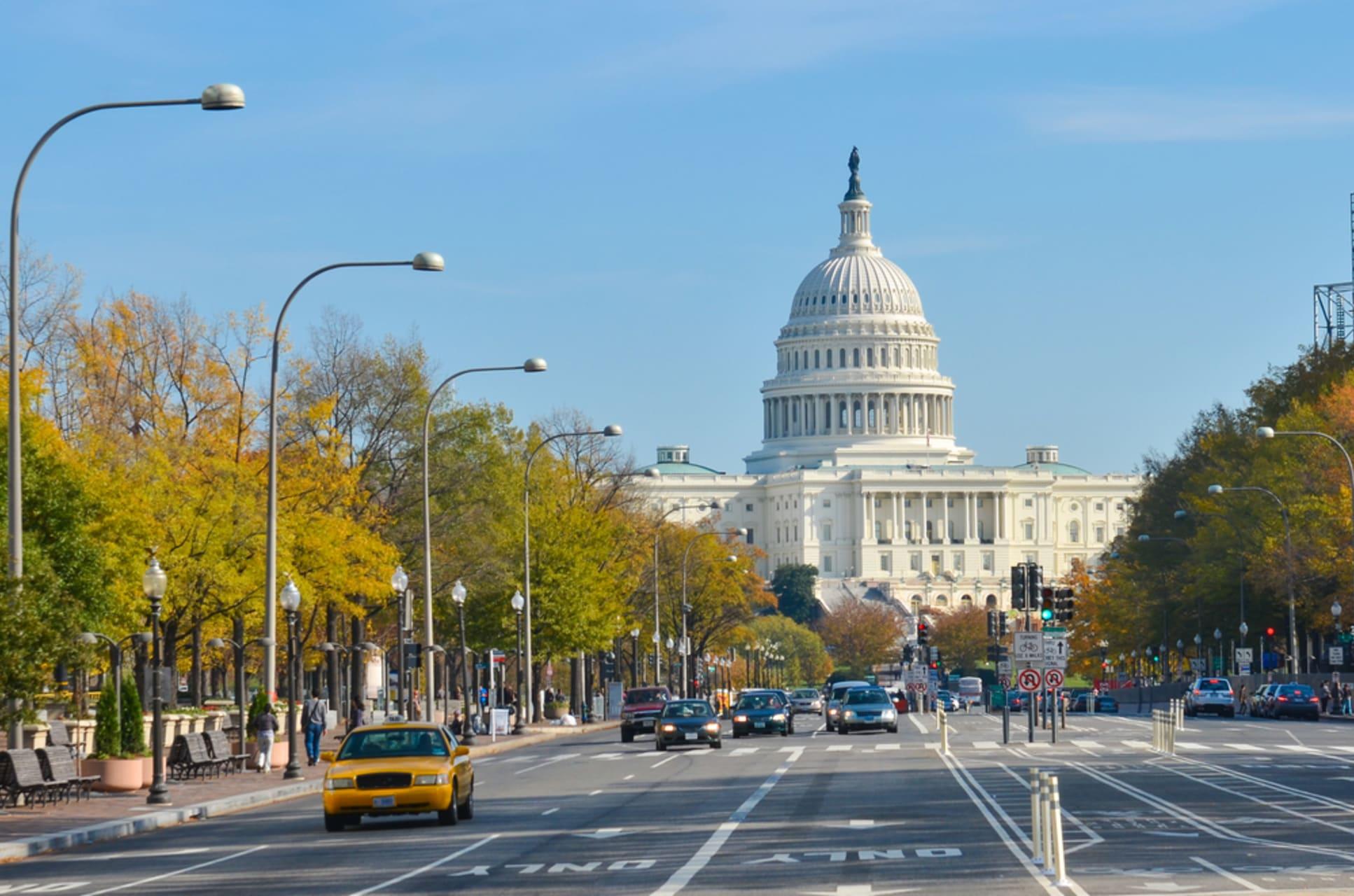 Washington D.C. - Pennsylvania Avenue - America's Main Street - Part 1 - US Navy Memorial to Ford's Theatre