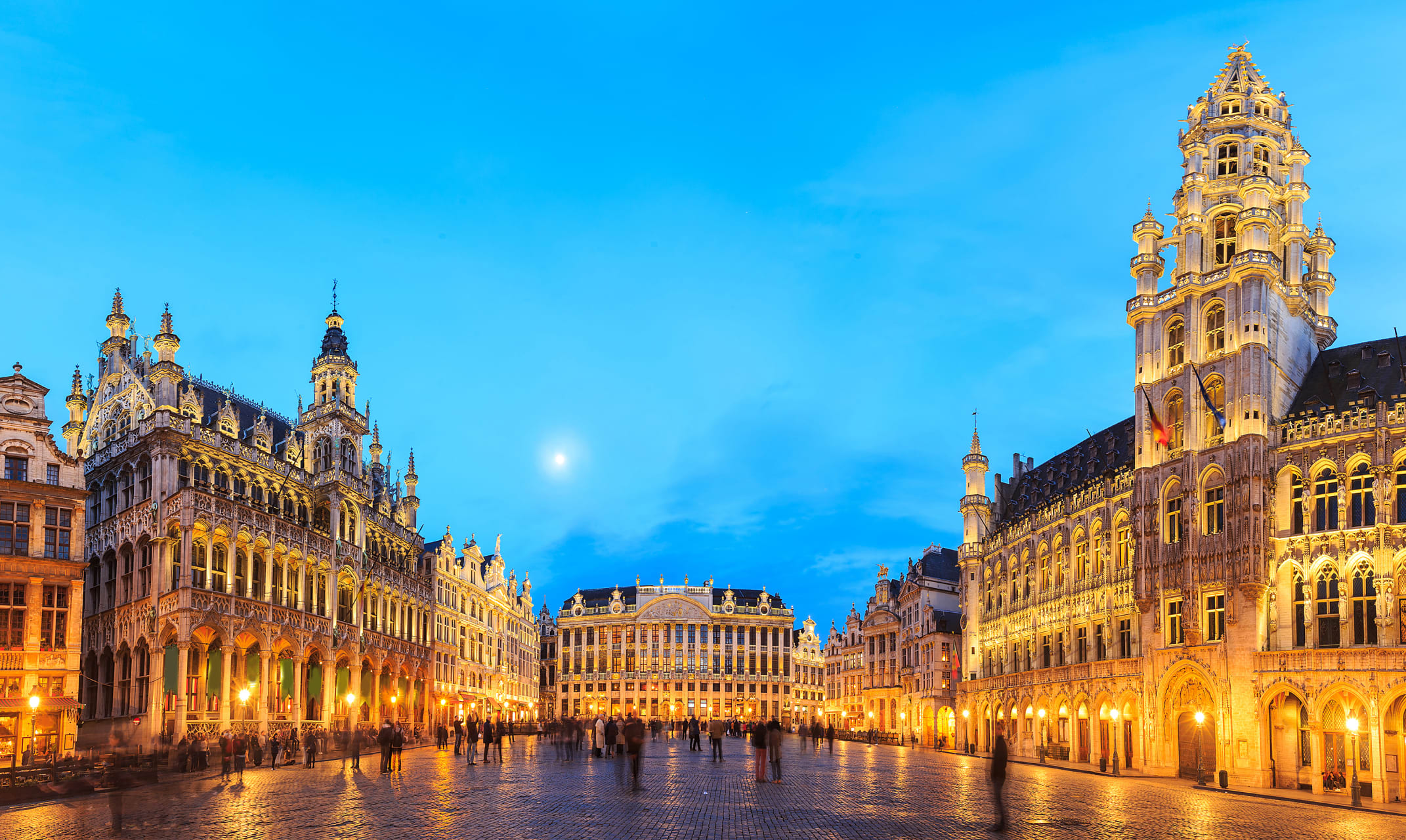 Brussels - Bustling Brussels, the medieval heart of Belgium