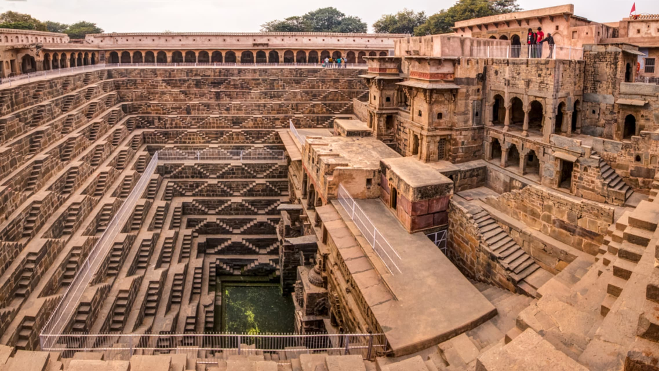 Jaipur - Chand Baori - The Ancient Temple and Step well of India