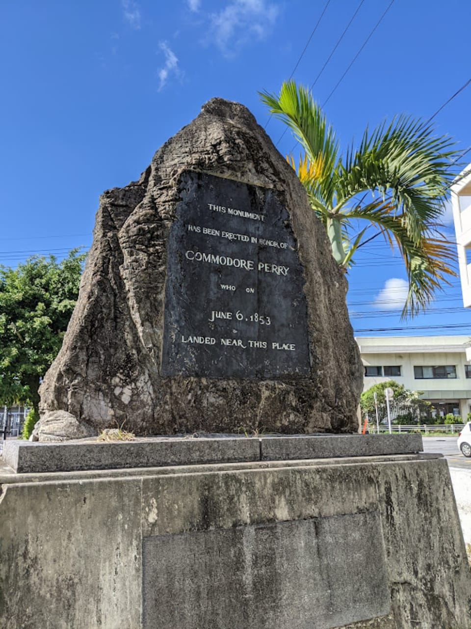 Okinawa - Commodore Perry, Basil Hall and the Foreigner Cemetery