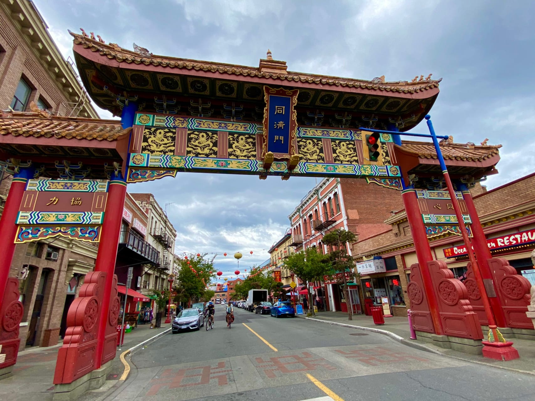 Victoria - Oldest China Town in Canada and Victoria's Old Town