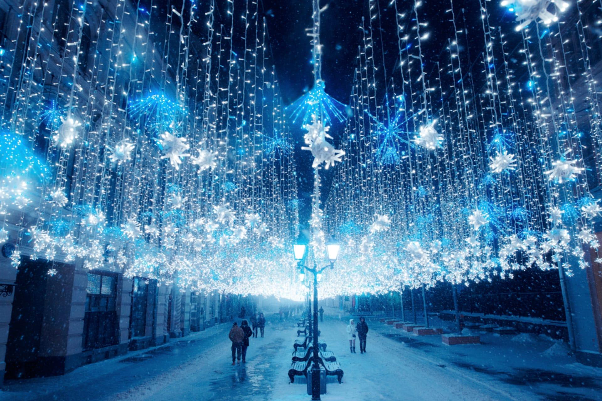 Moscow - Holiday Special - Christmas in Nikolskaya Street