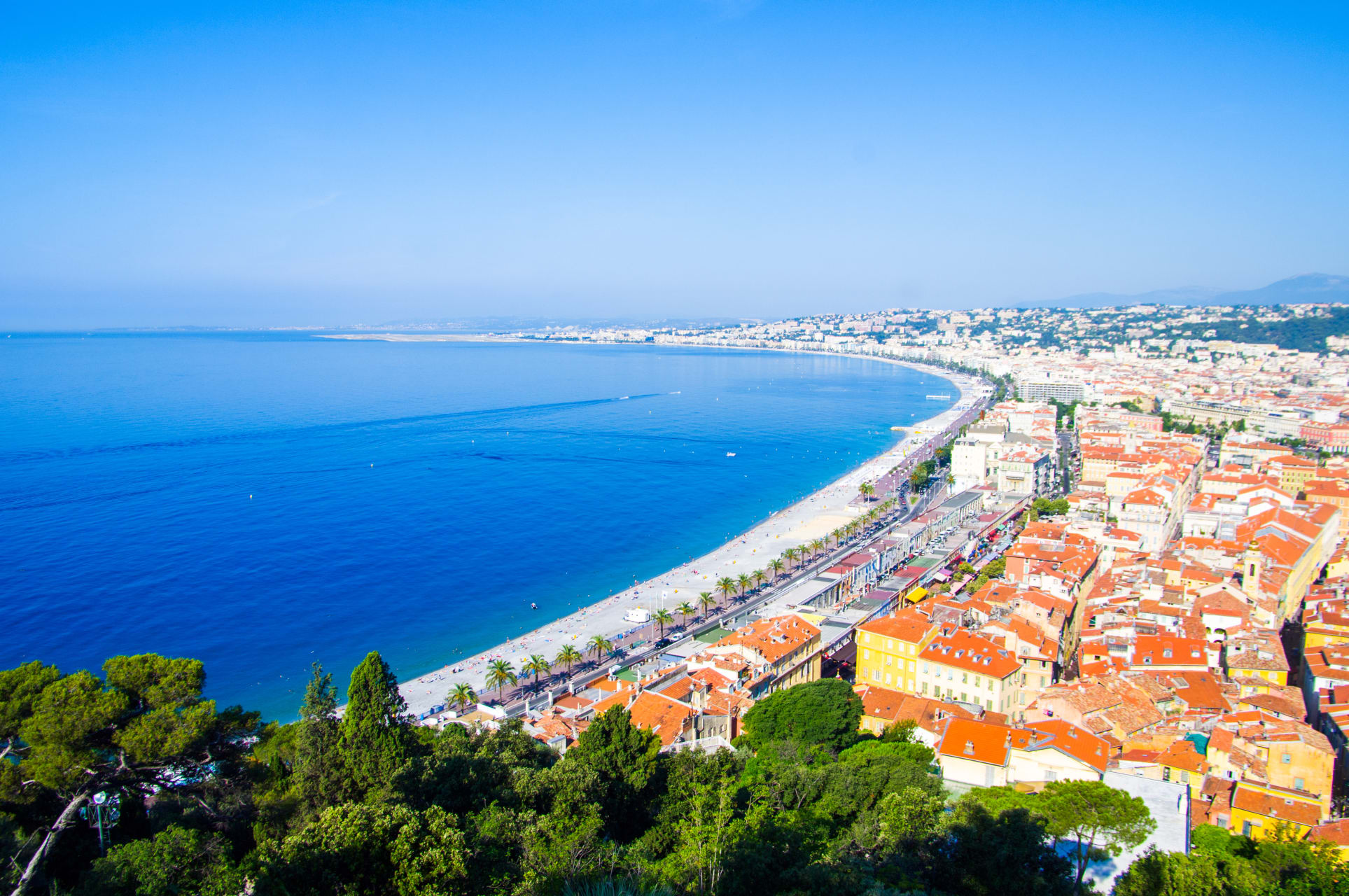 French Riviera - The Sky's the Limit - Nice from above.