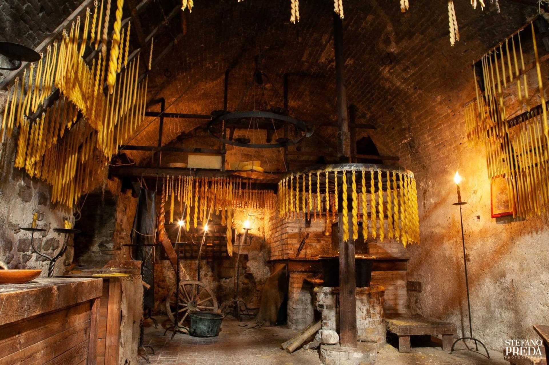 Umbria -  Bevagna - Candle Making in the Middle Ages