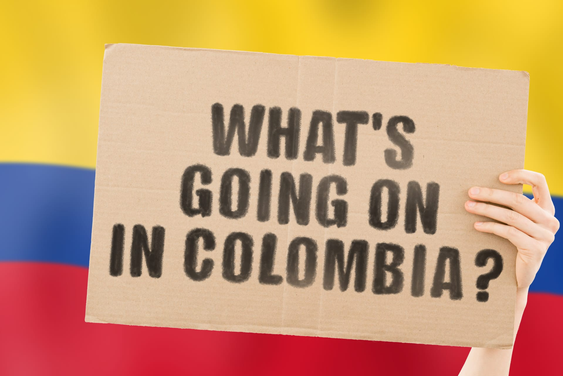 Bogota - Demonstrations in Colombia: Live protests from Bogota