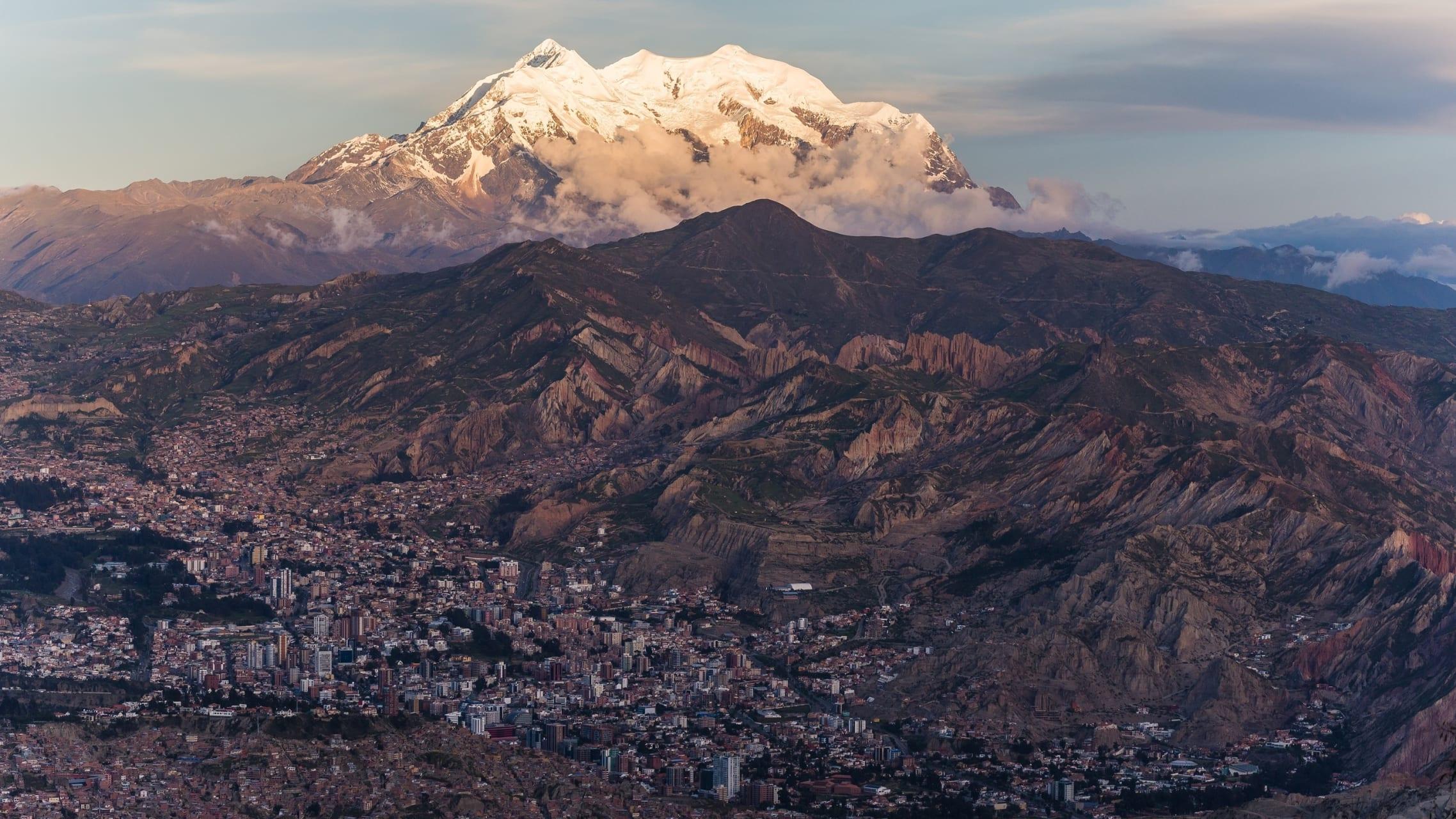 La Paz - The Andes