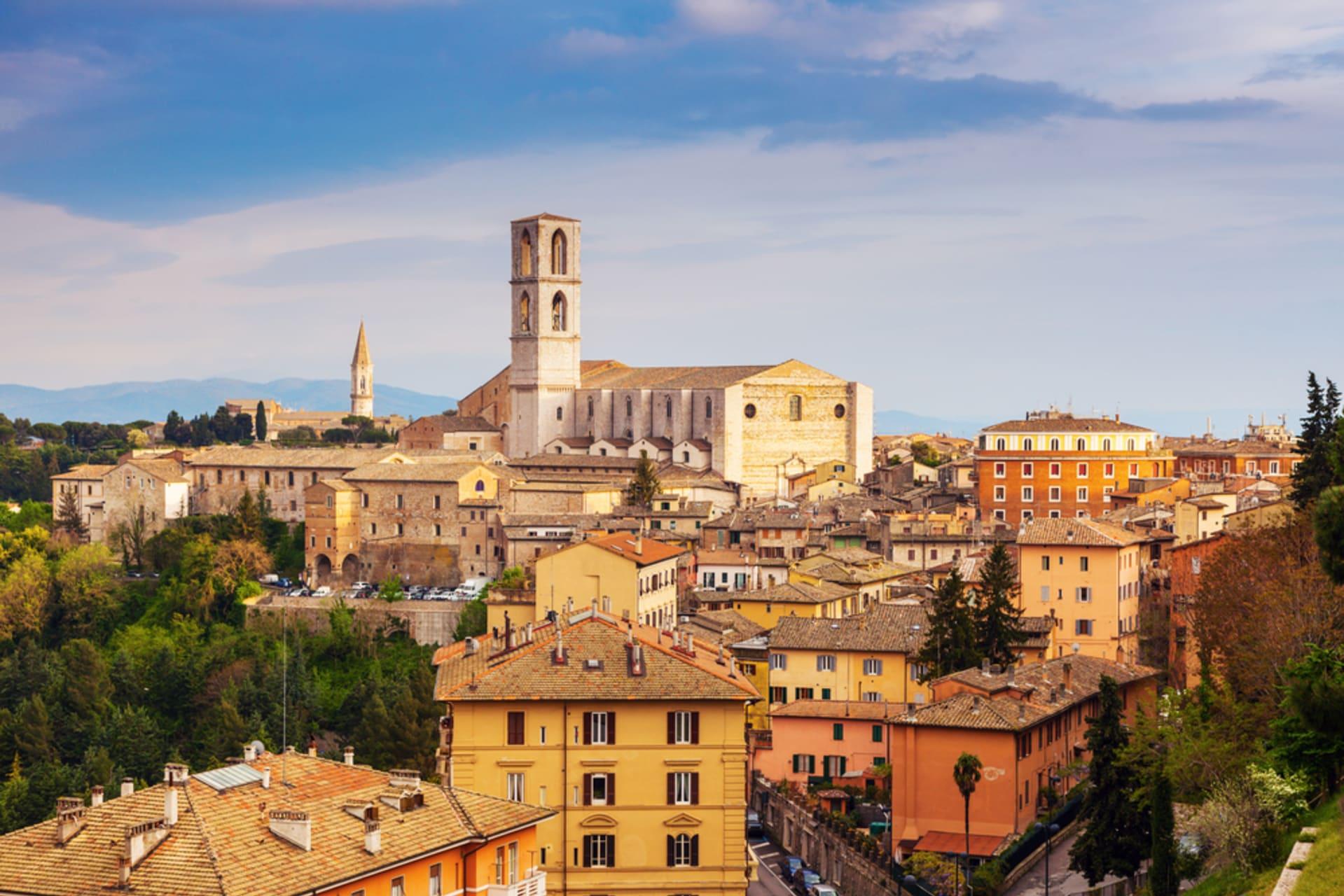 Perugia - Perugia 5 Colours - Yellow : The Borgo Bello