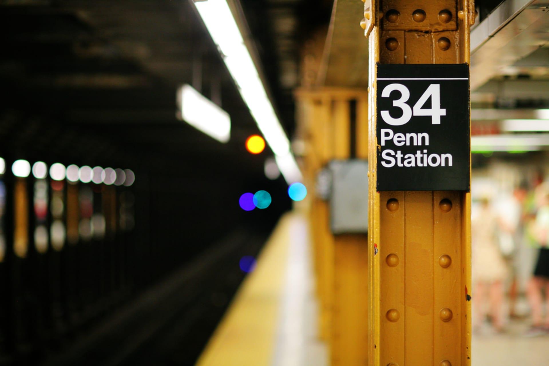 New York - The Journey of Pennsylvania Train Station