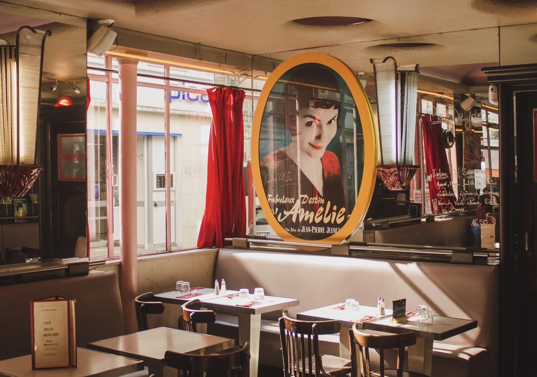 Paris - Amélie Poulain and Romantic Life