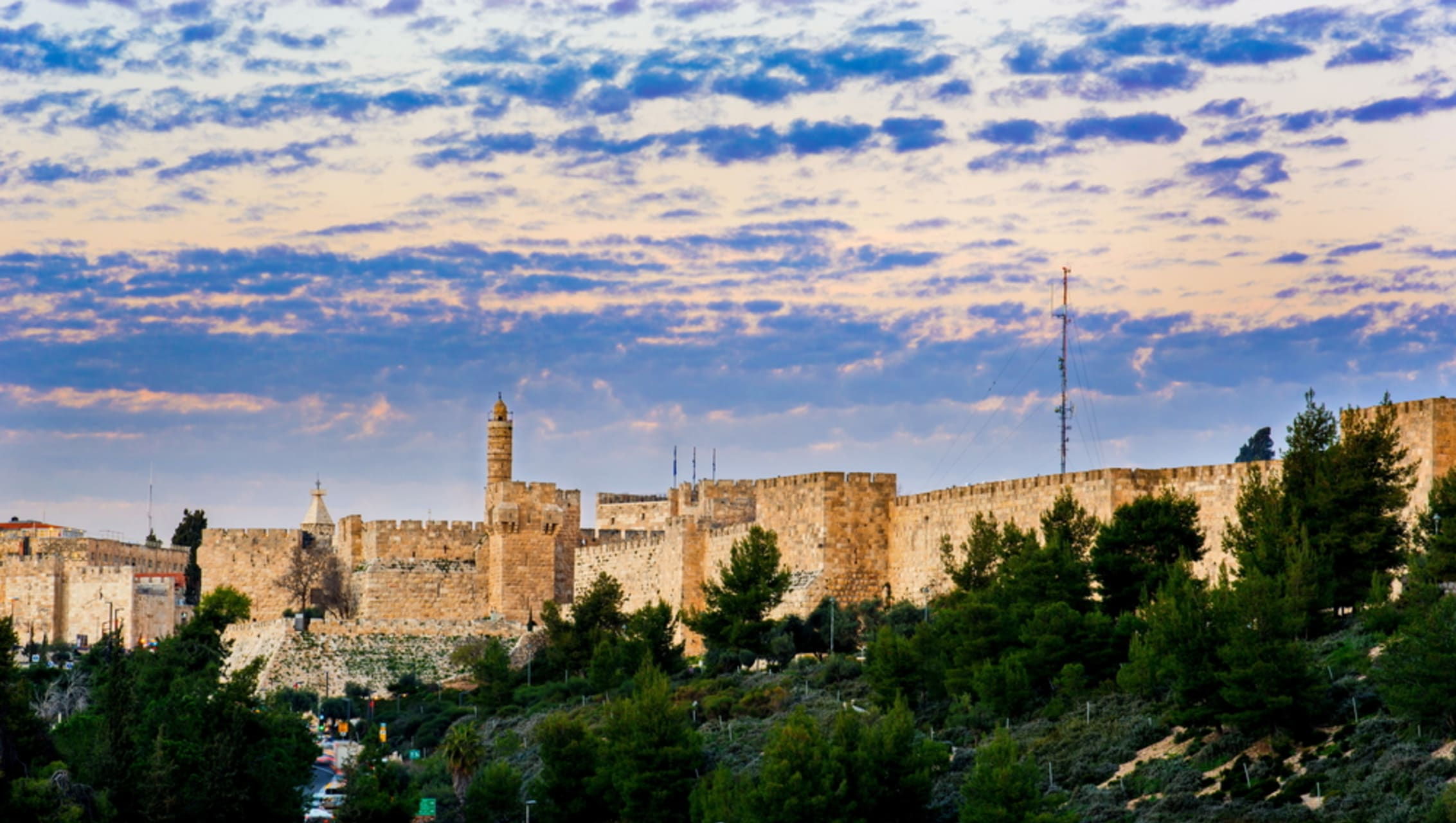 Jerusalem - Hope Between Heaven and Hell - From East to West Jerusalem