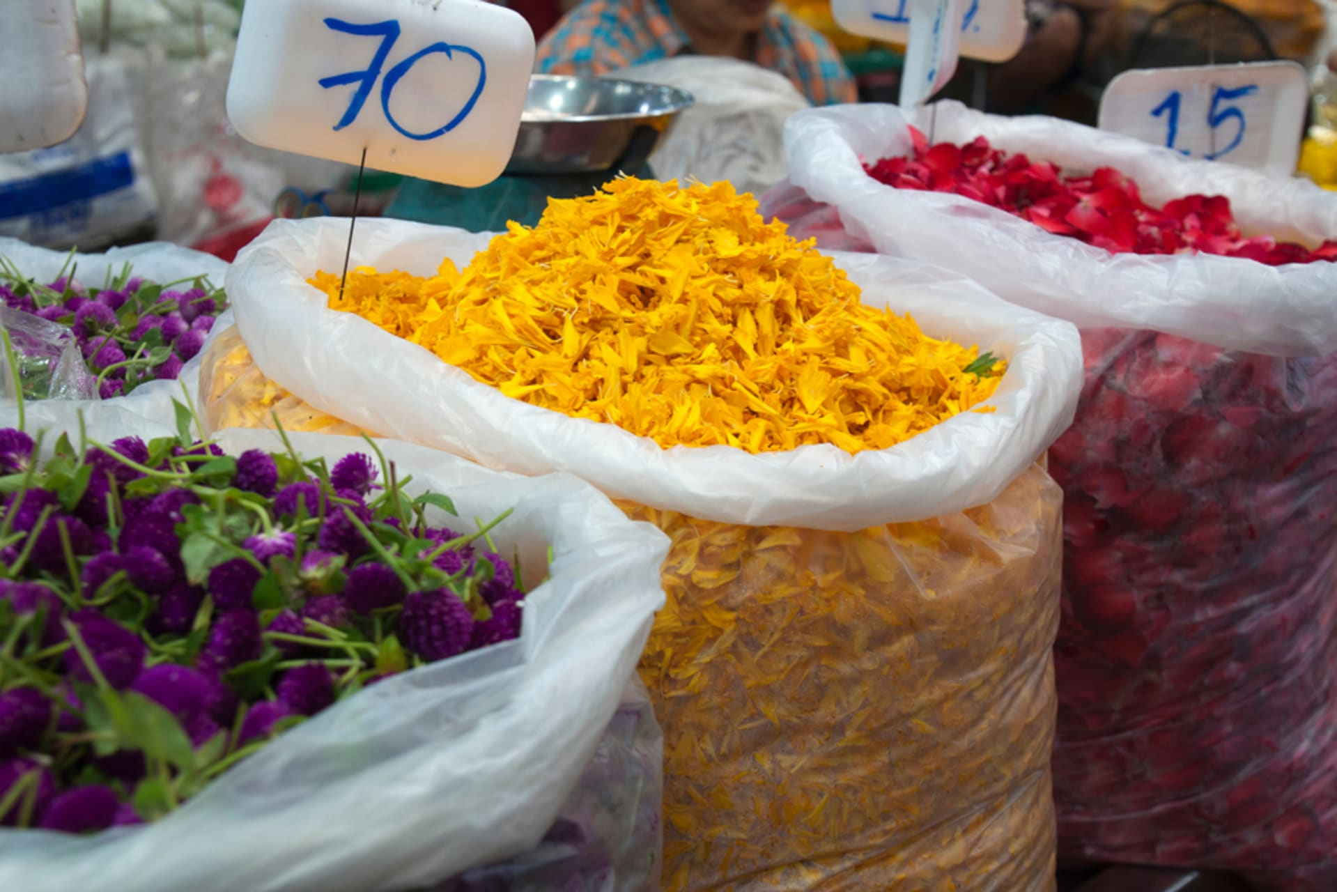 Bangkok - Flower Market (Pak Klong Talat)