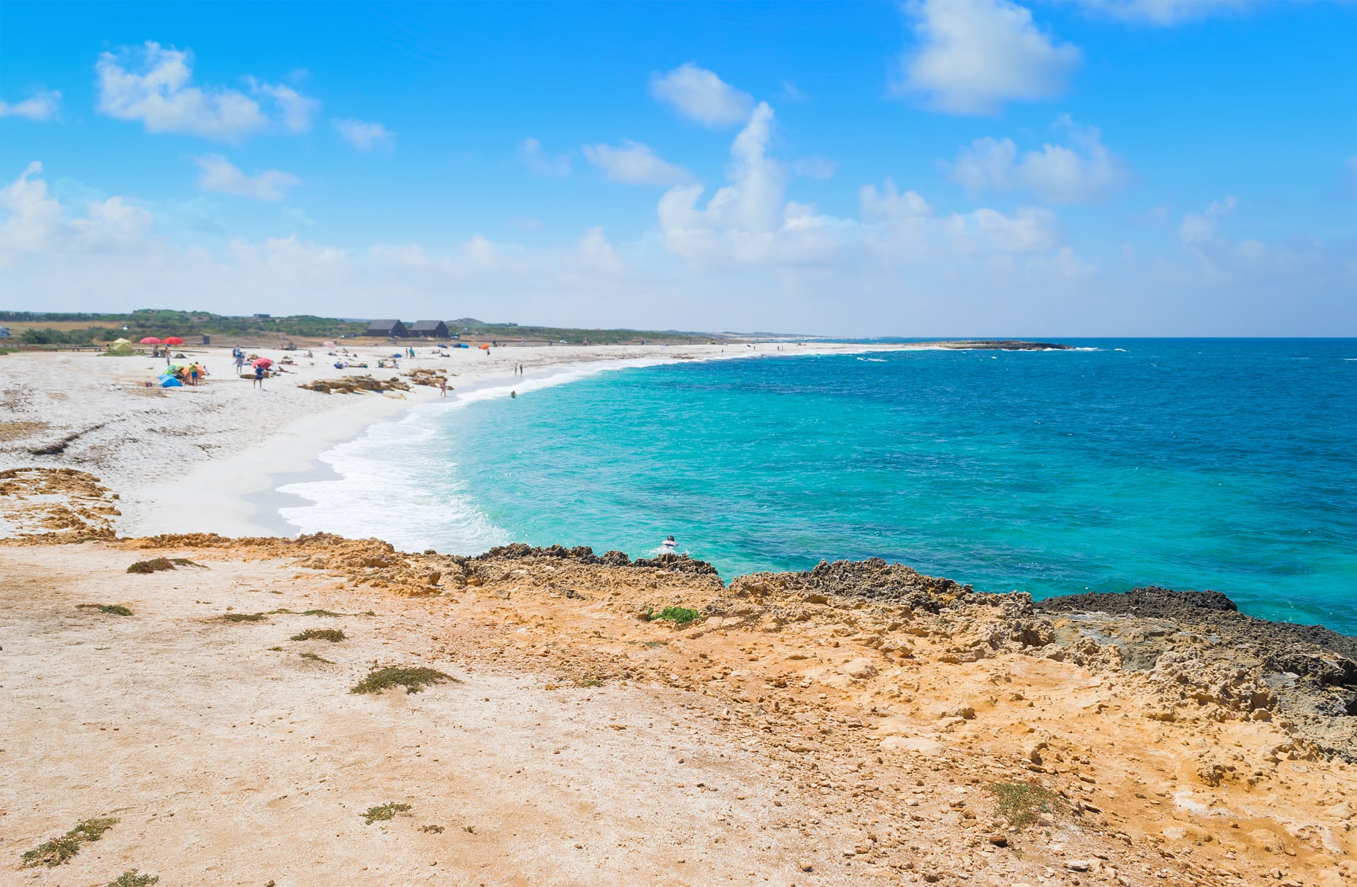 Sardinia - Crystal Water, White Sand and Golden Rocks, Welcome to Sardinia's West Coast