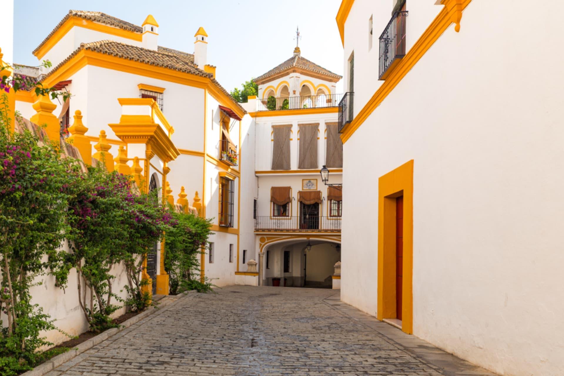 Seville - The Old Jewish Quarter: Santa Cruz Neighborhood Sevilla, Spain