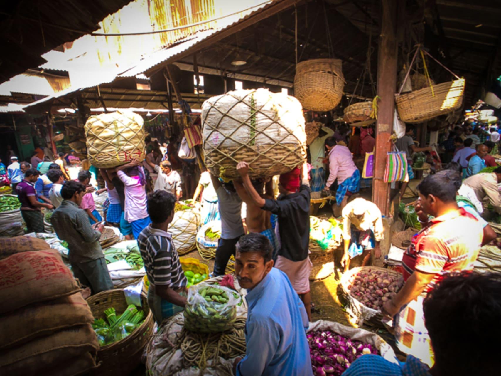 Kolkata - Koley Market - One of the Largest Wholesale Vegetable Market of India and Asia!