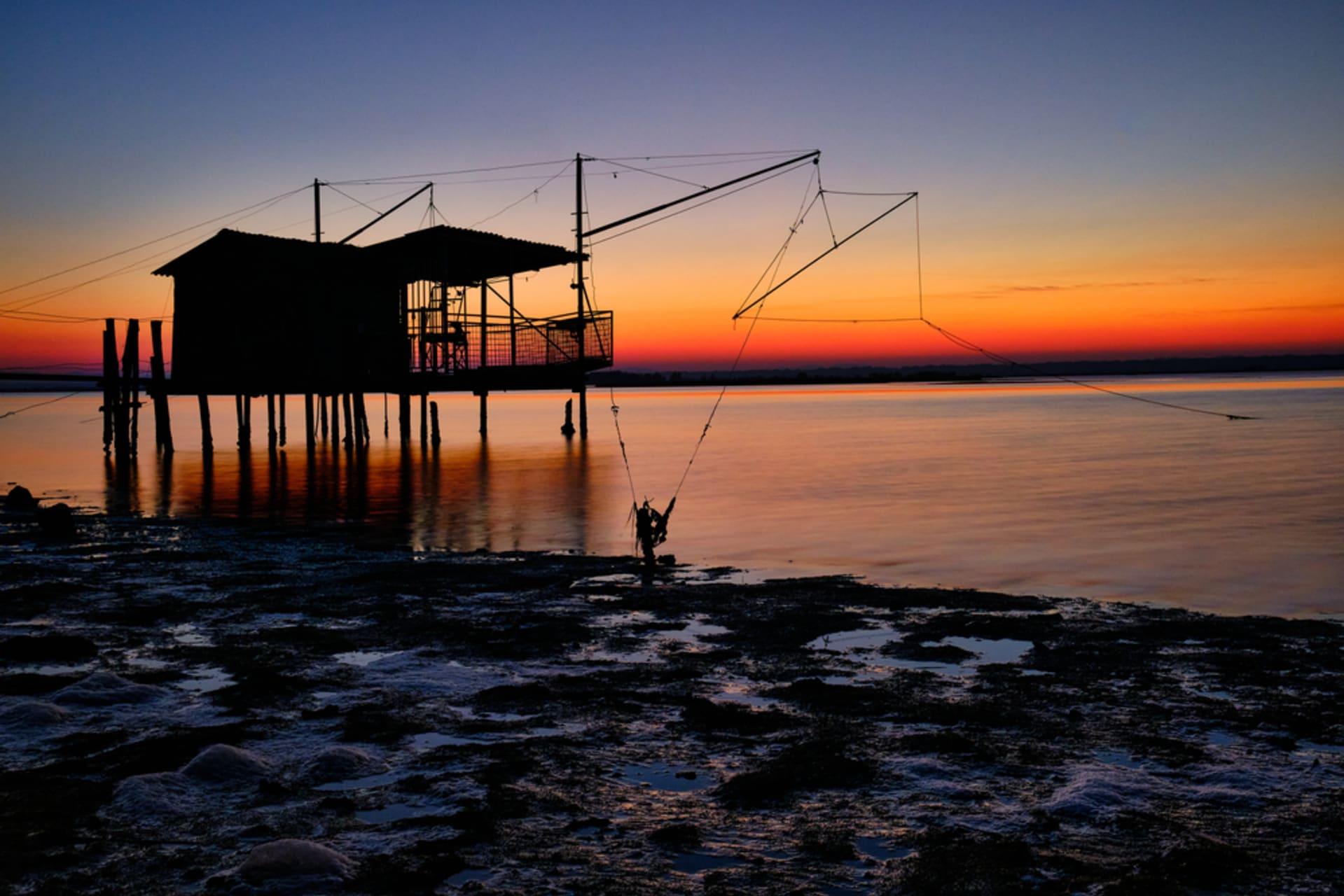 Ravenna - Sunset in Piallassa Baiona - Po Delta Regional Park