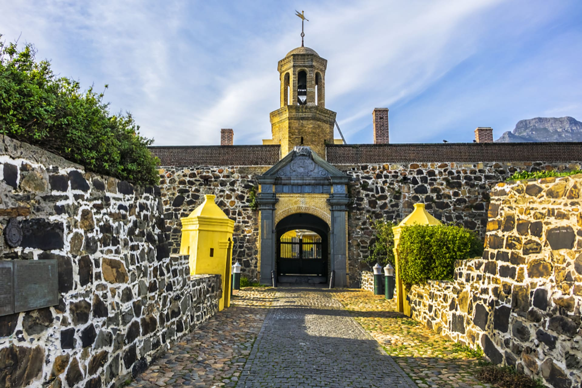 Cape Town - The Castle of Good Hope: the fortress at the edge of the world!