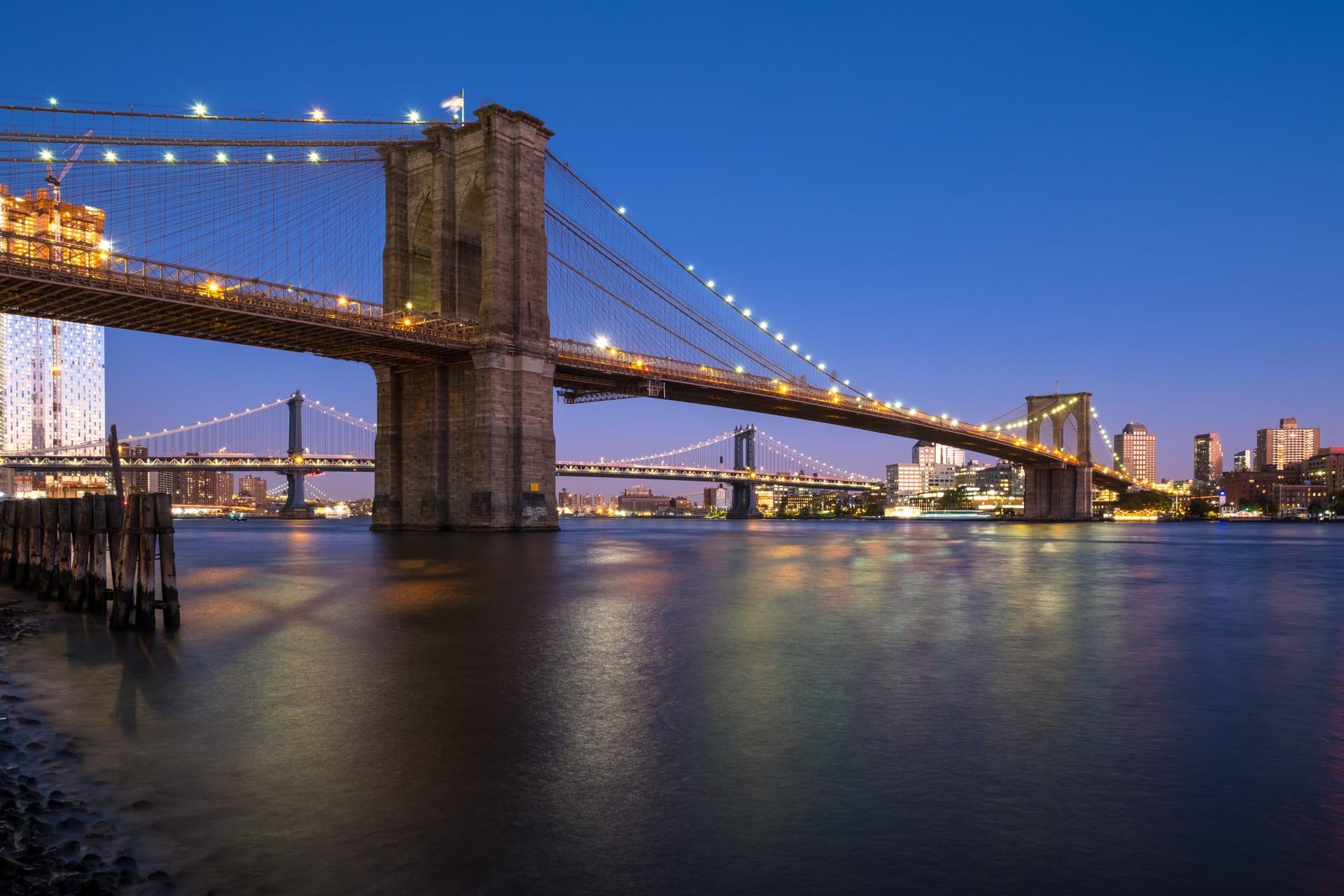 New York - New York at Night: South Street Seaport