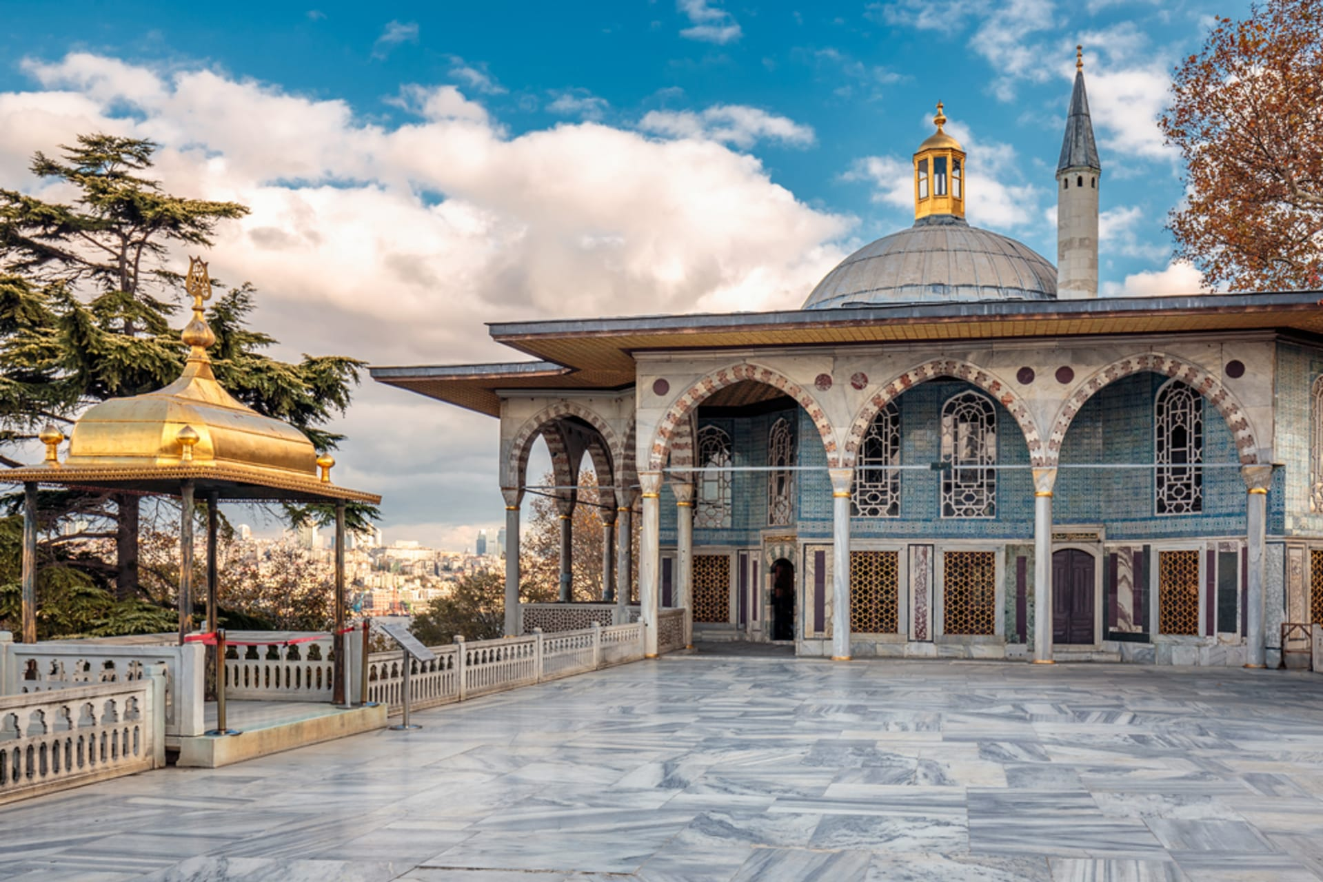 Istanbul - Topkapi Palace- Home of Sultans and Concubines