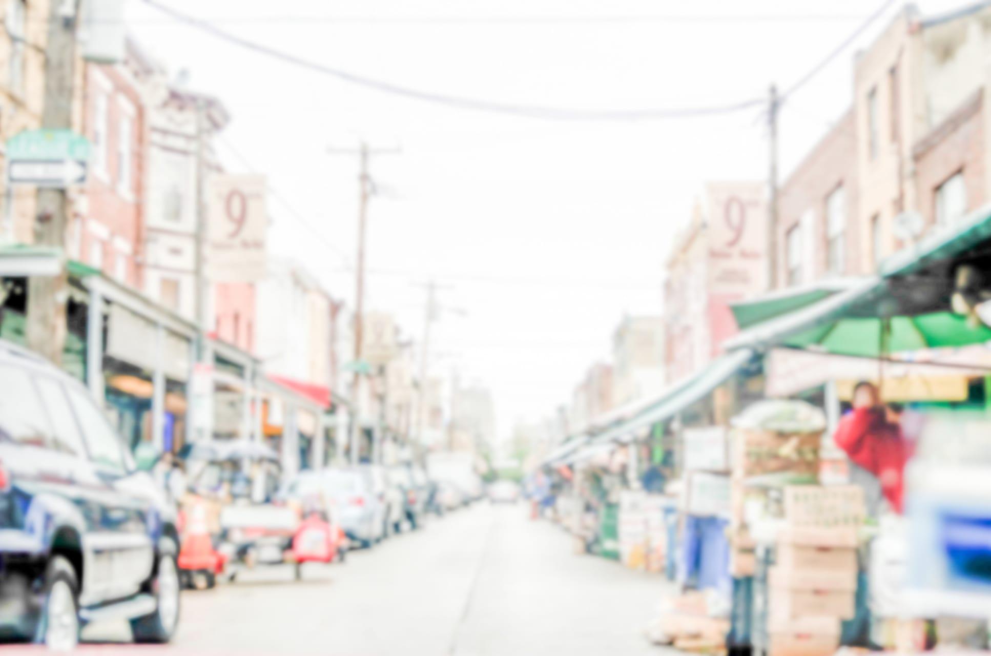 Philadelphia - The Italian Market: Old Immigrant Community through New Immigrant Eyes